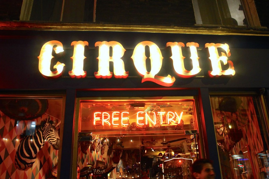 cirque shoreditch