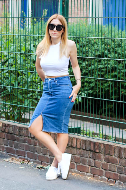 Denim Skirt 4