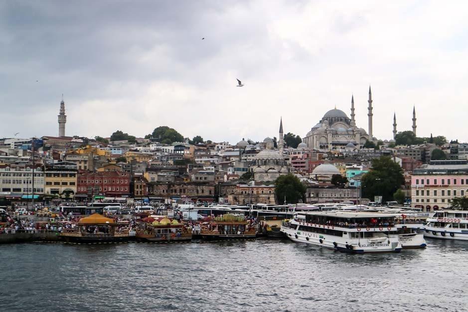 Galata Bridge istanbul 1