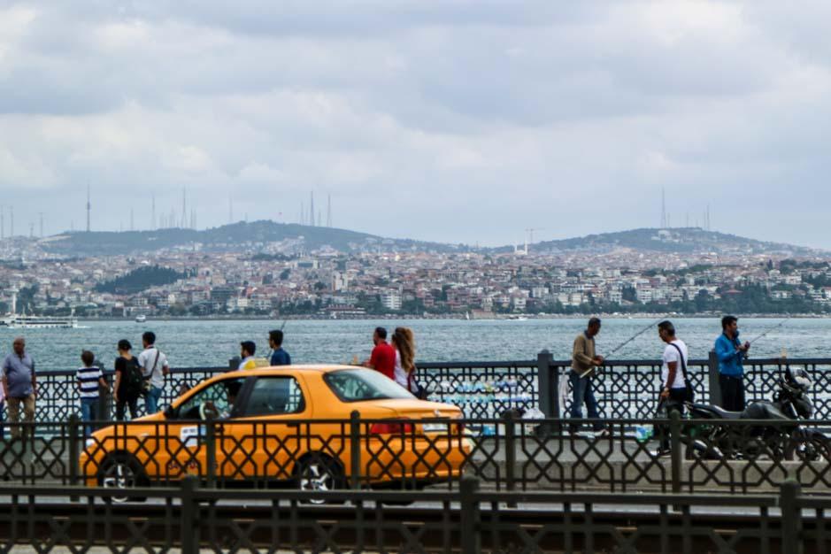 Galata Bridge istanbul 2