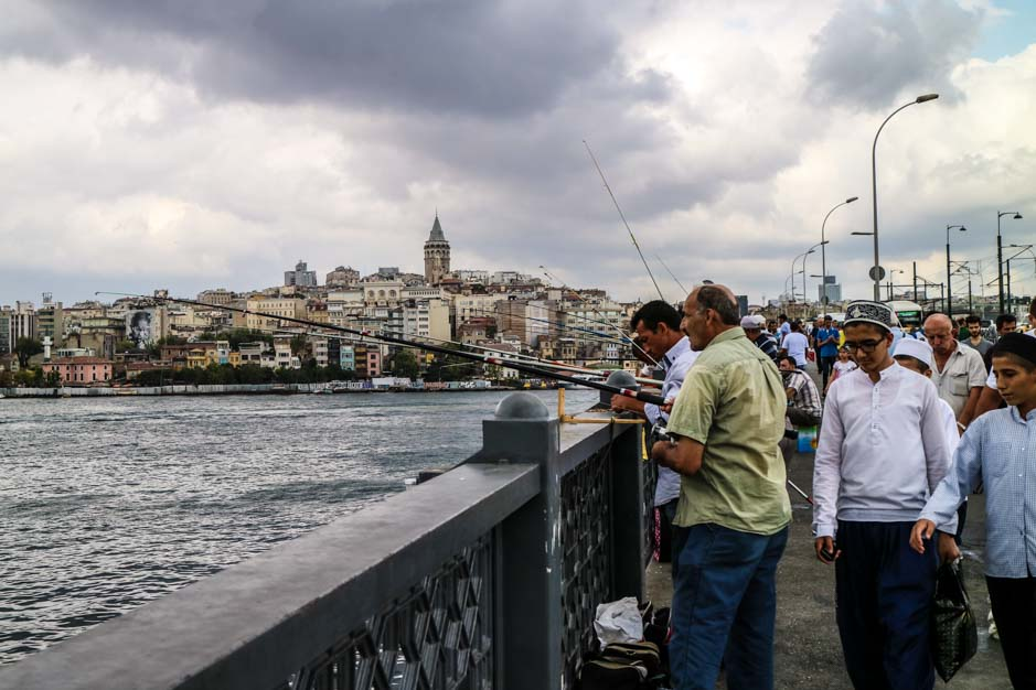 Galata Bridge istanbul_