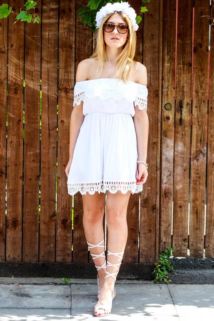 white dress 10
