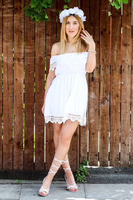 white dress 8