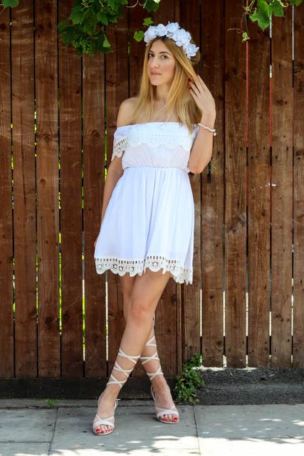 white dress 9