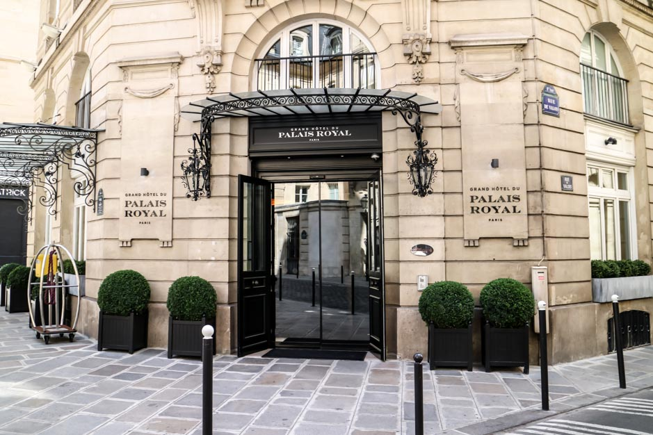 Weekend at grand hotel du palais royal - Grand hotel palais royal ...