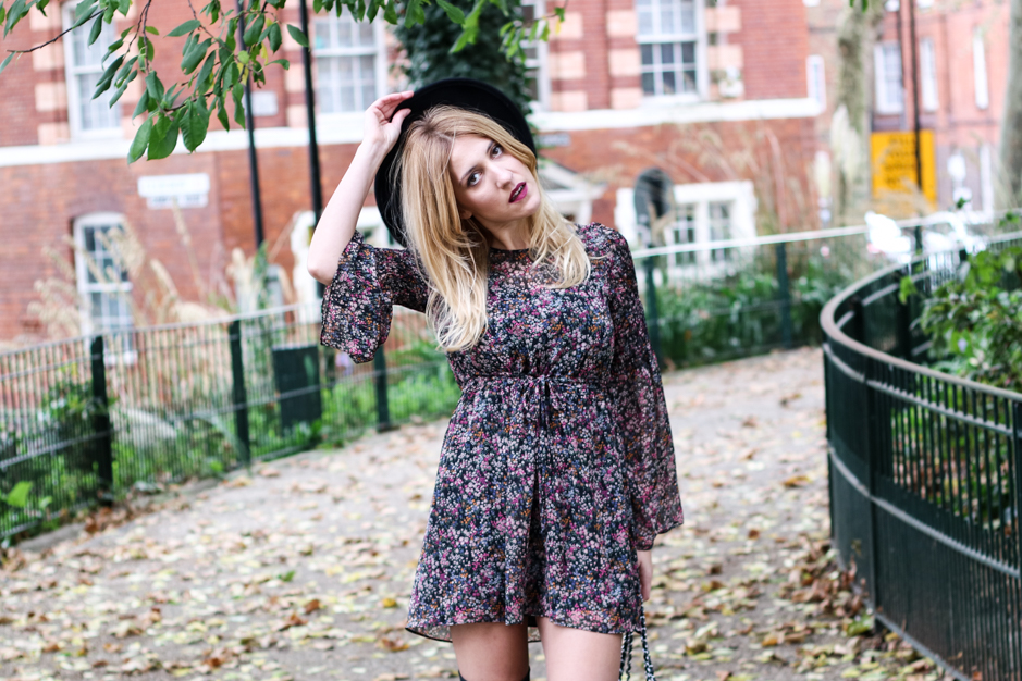 Floral Print Dress 3