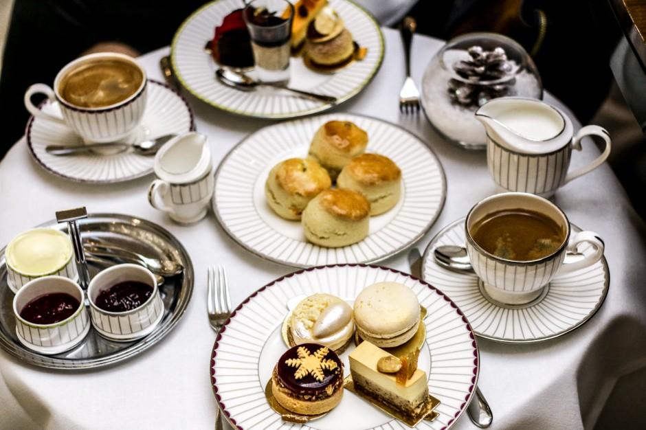 festive afternoon tea