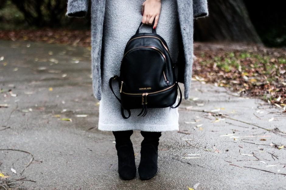 black & grey look