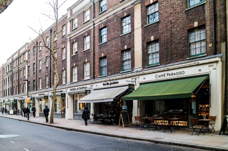 guide to Bloomsbury London