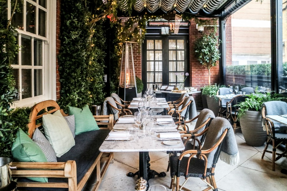 Dalloway terrace al fresco dining london for The terrace menu