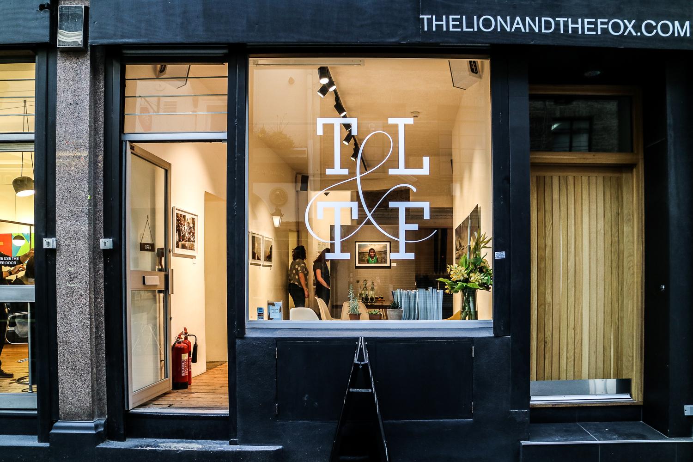 The Lion and The Fox hair salon