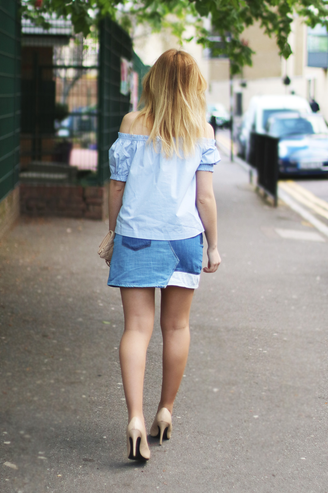 Patched Denim Style