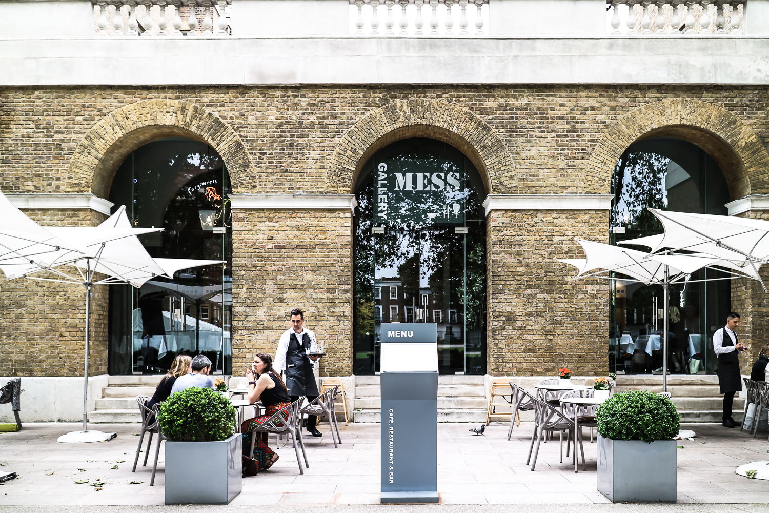 Brunch at the Gallery Mess Chelsea