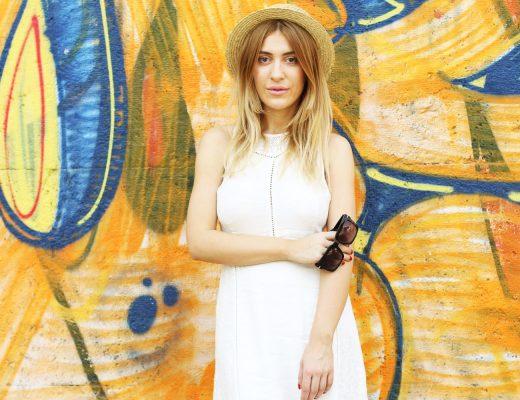 Superdry White Maxi Dress