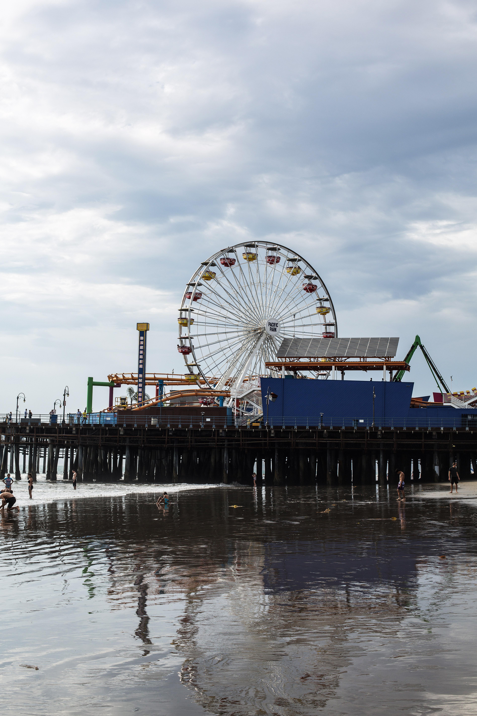 Abbott Kinney, Venice Beach And Santa Monica Peer