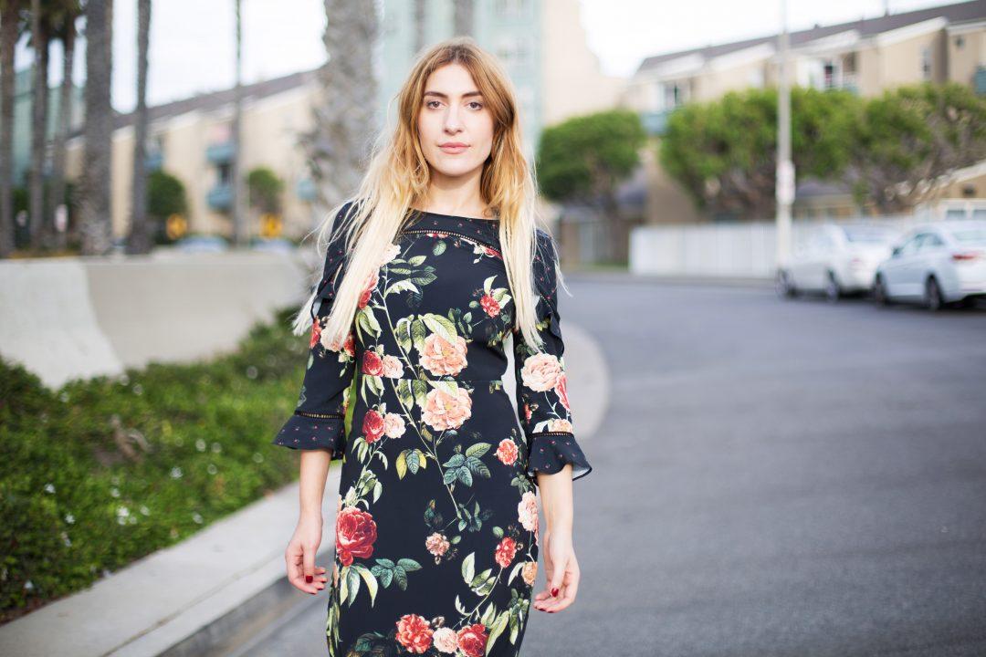 Autumn Fashion Trend Dress Ruffles and Frills