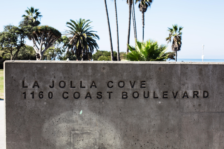 Visiting La Jolla San Beach San Diego