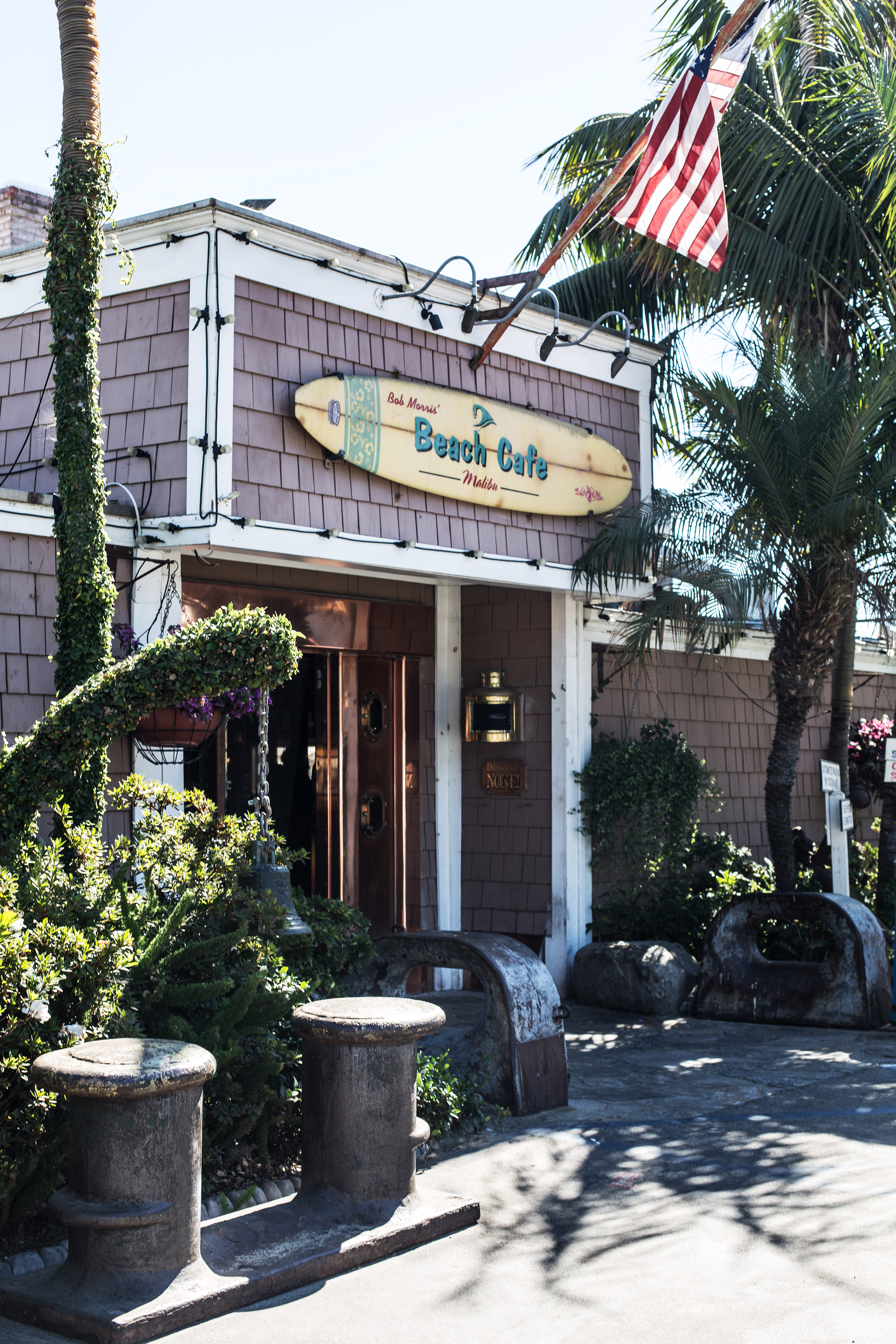 Visiting Malibu and Paradise Beach Cove Cafe