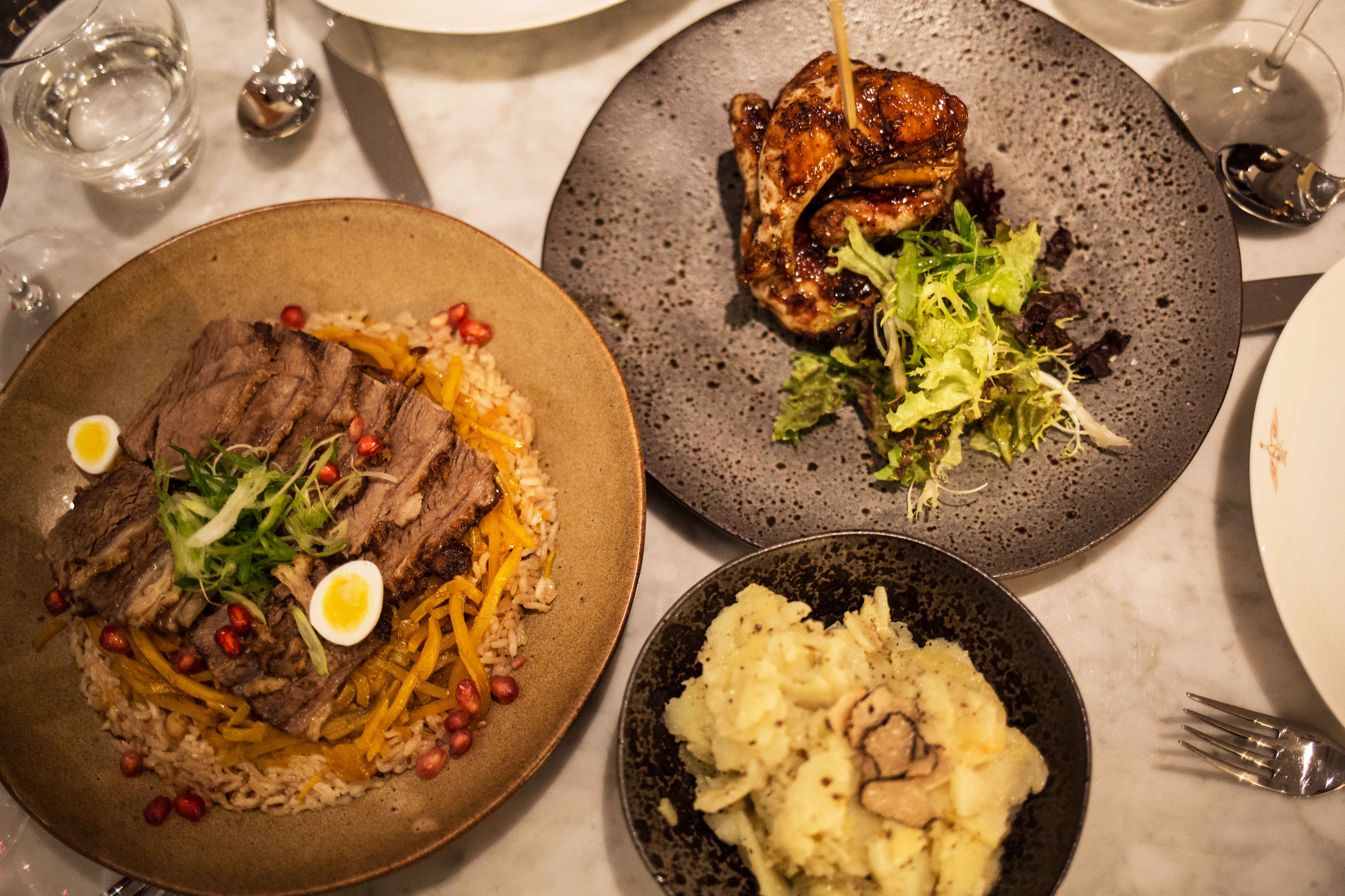 Dinner and Cocktails at Samarkand London