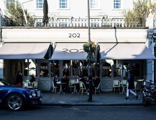 Brunch at 202 Notting Hill