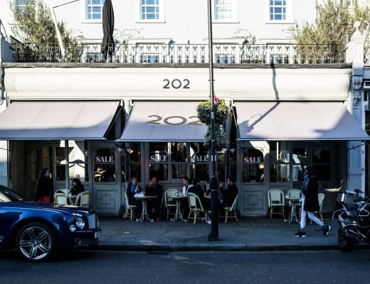 Brunch at 202 Notting Hill