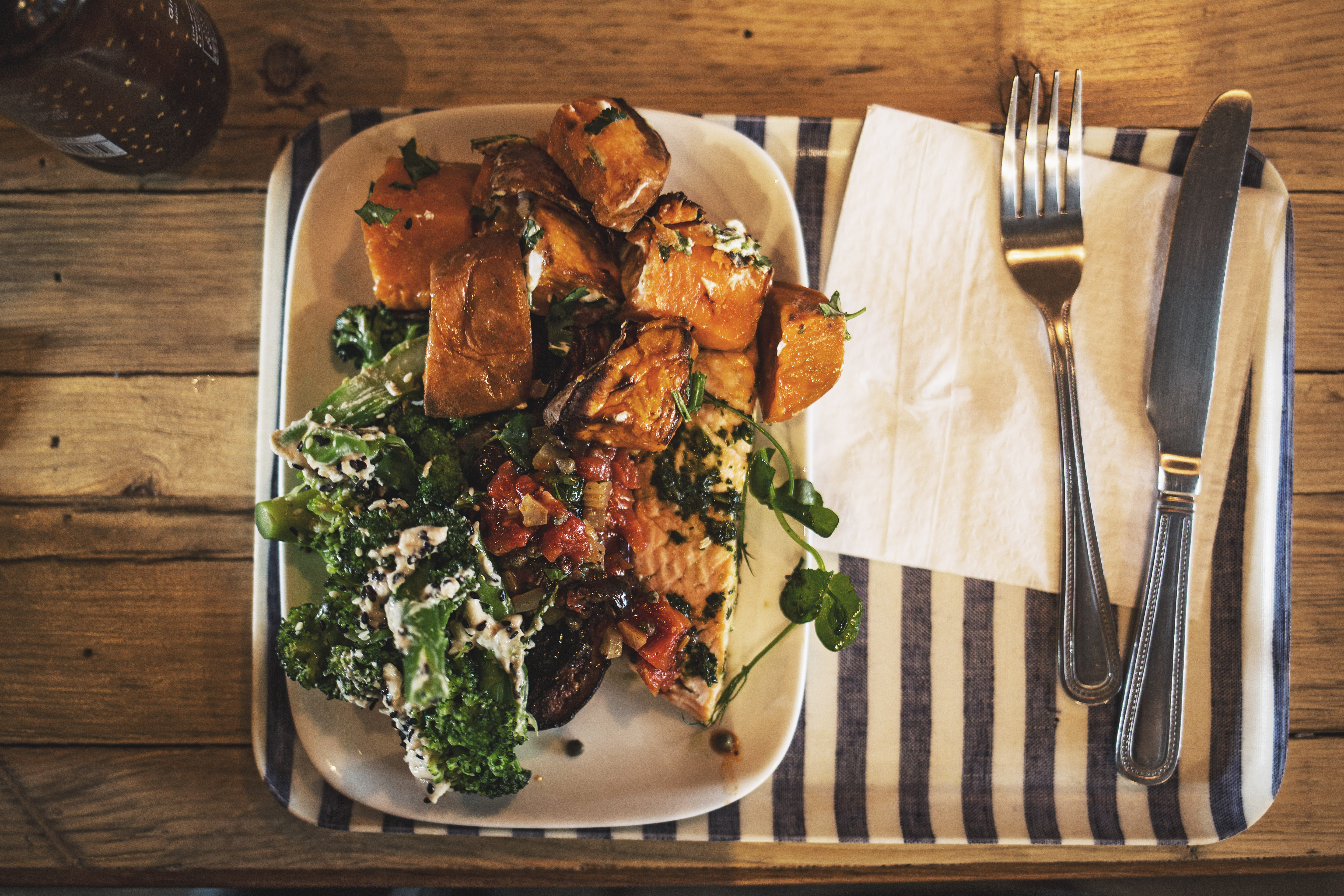 Healthy Lunch at Farmstand Covent Garden