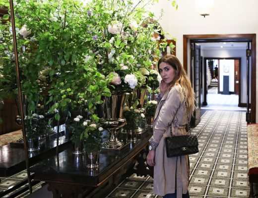 The Secret Garden Library at the Browns Hotel