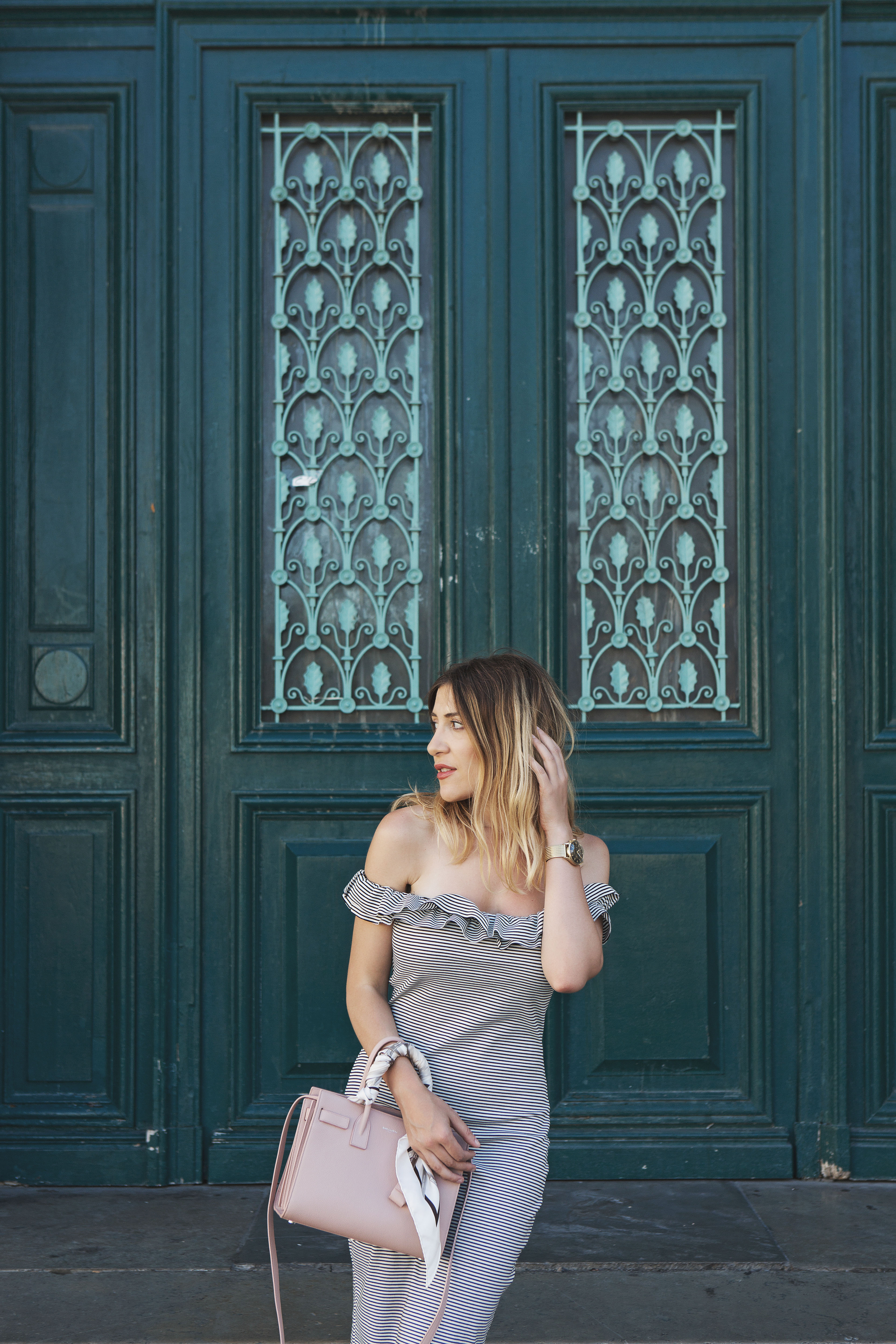 Stripes on a Holiday: The French Girl Style