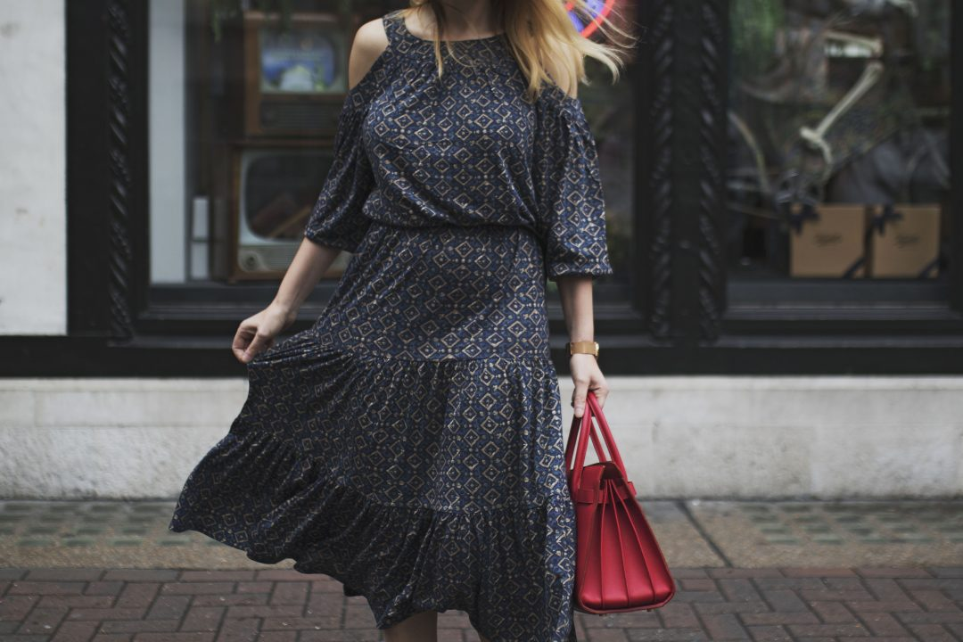 Midi Dress For The Season Change