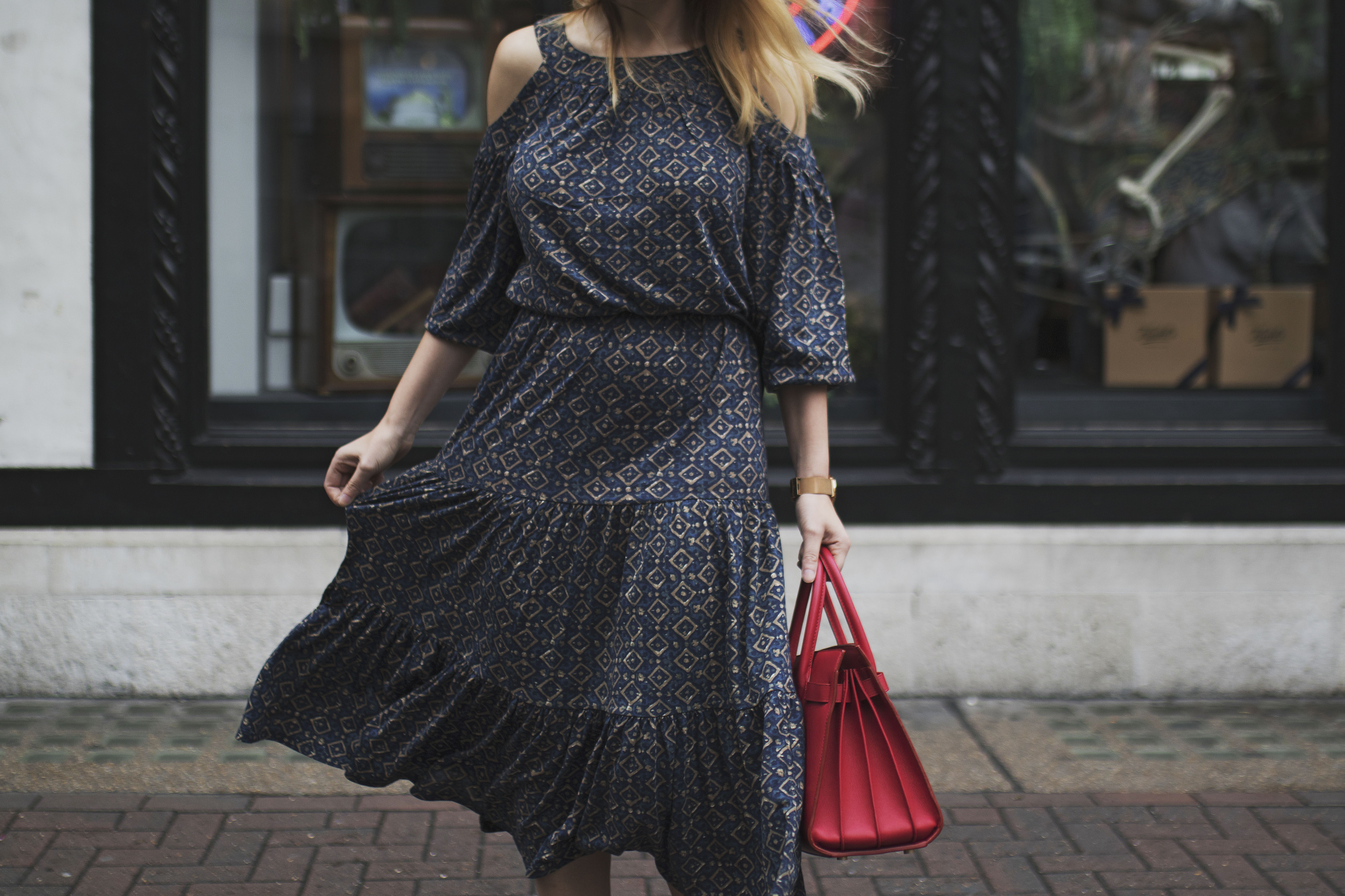 Midi Dress For The Season Change