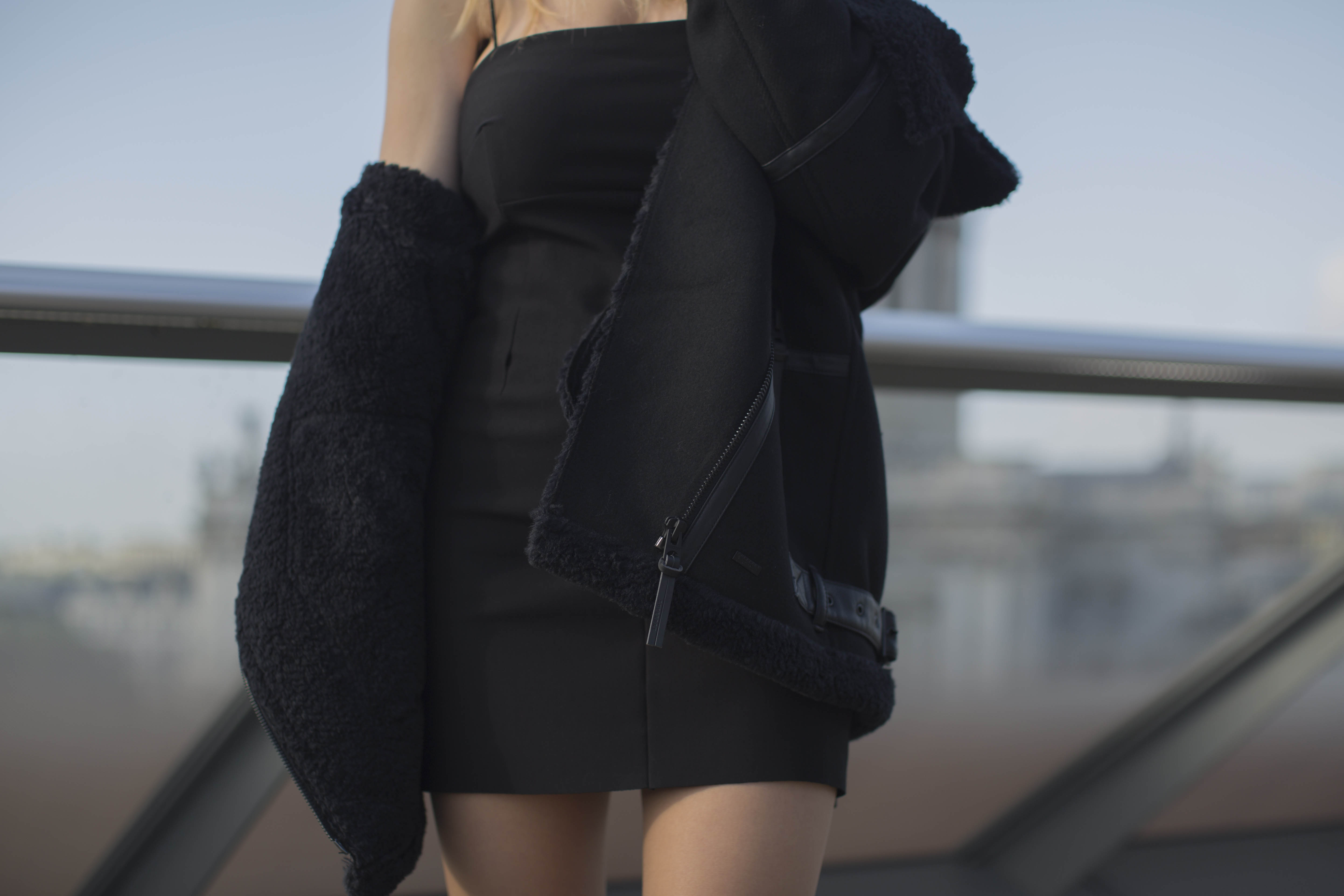 Superdry This Is The Jacket – Ophelia Wool Aviator Jacket
