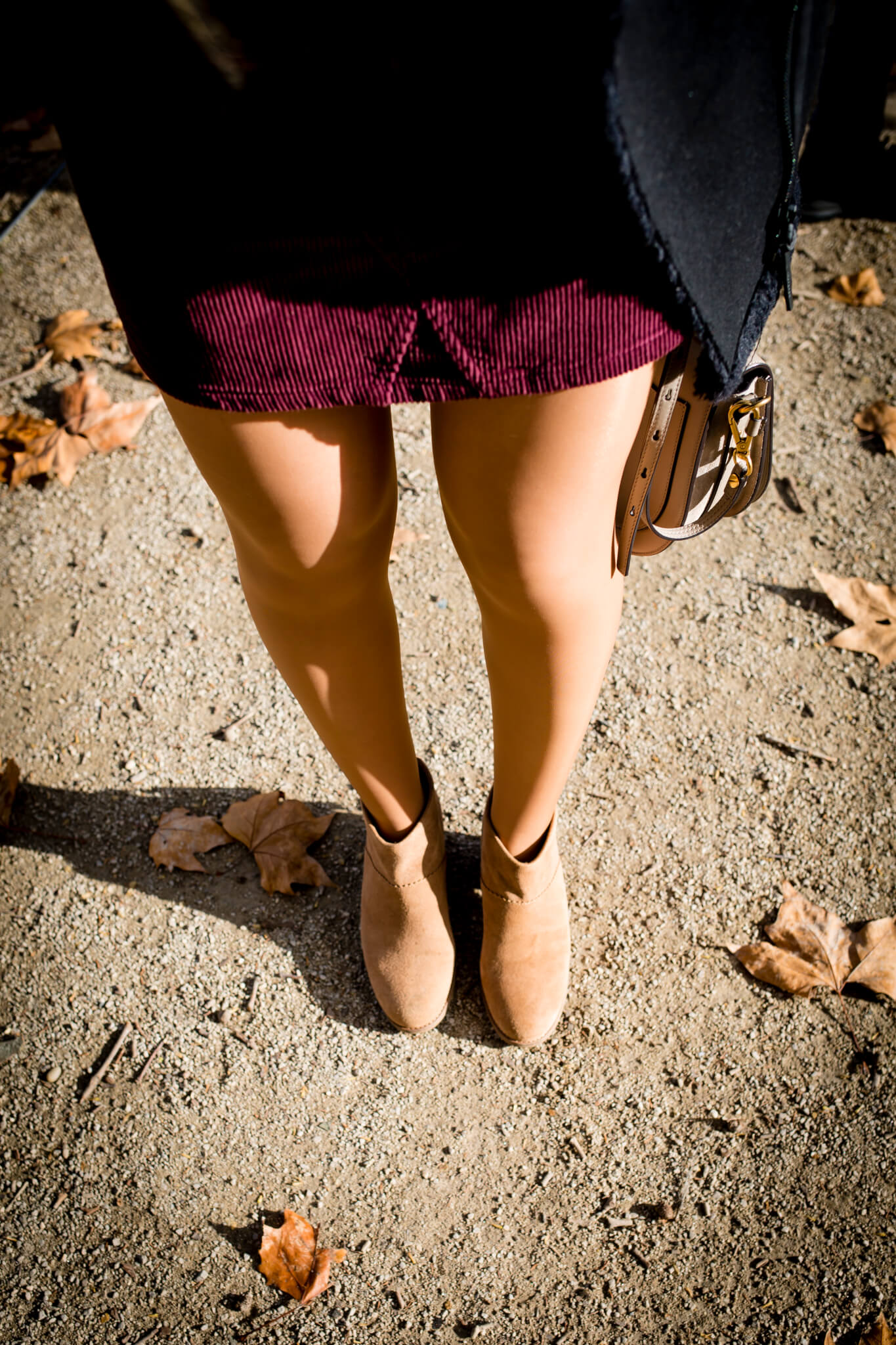 Perfect Suede Booties for Fall with Toms