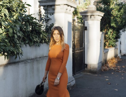 Orange dress to end violence against women and girls