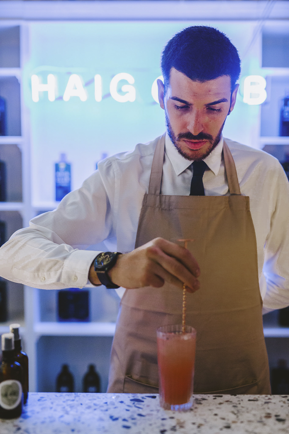 The Haig Club pop up bar