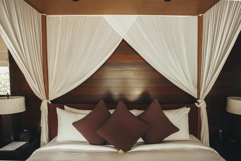 Kayumanis Ubud outdoor bedroom