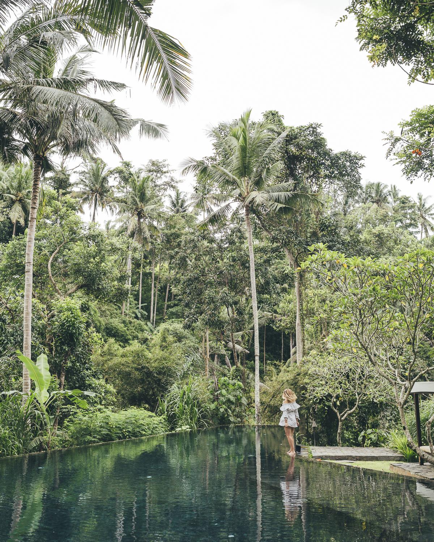 Kayumanis Ubud pool