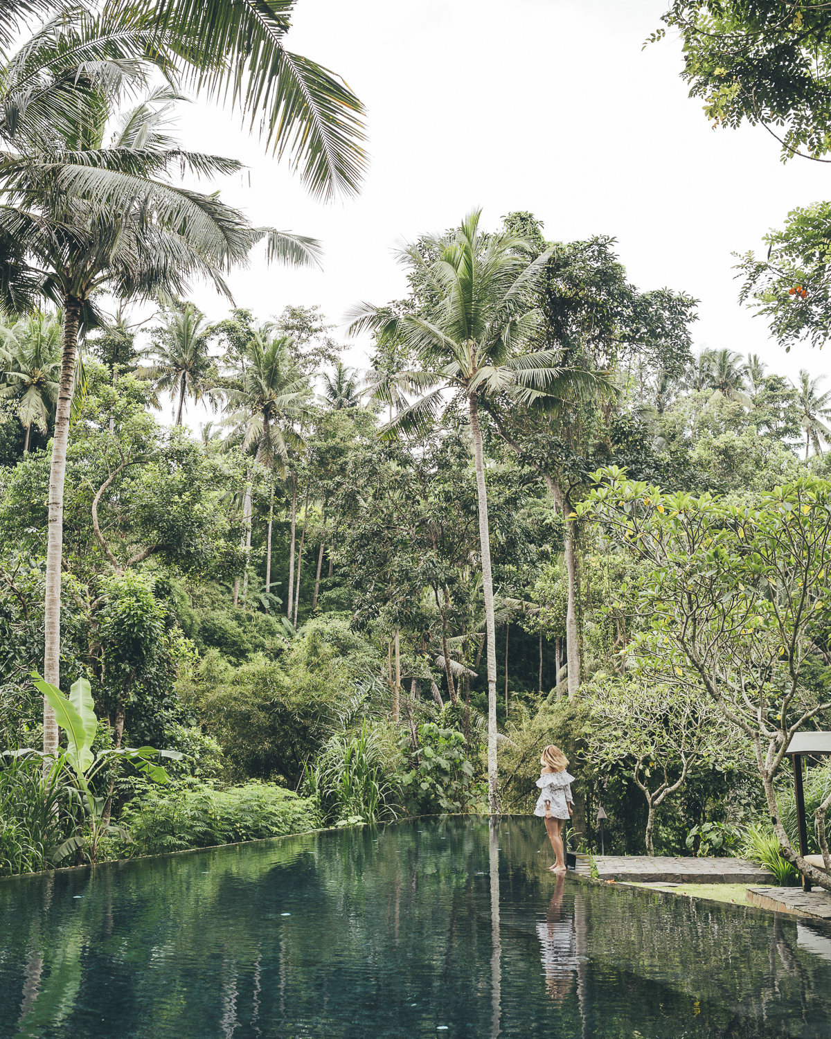 Kayumanis Ubud pool