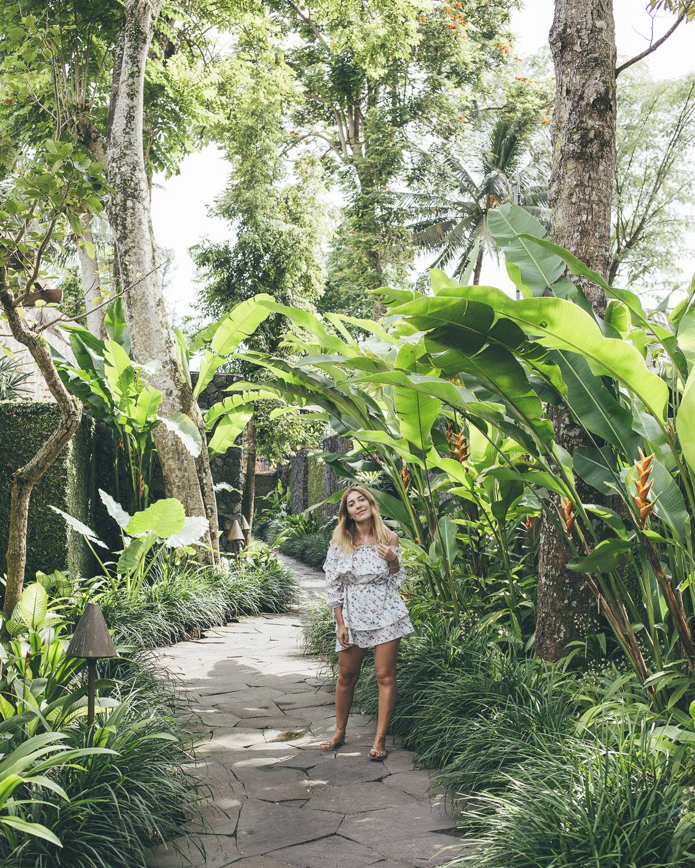Kayumanis Ubud gardens