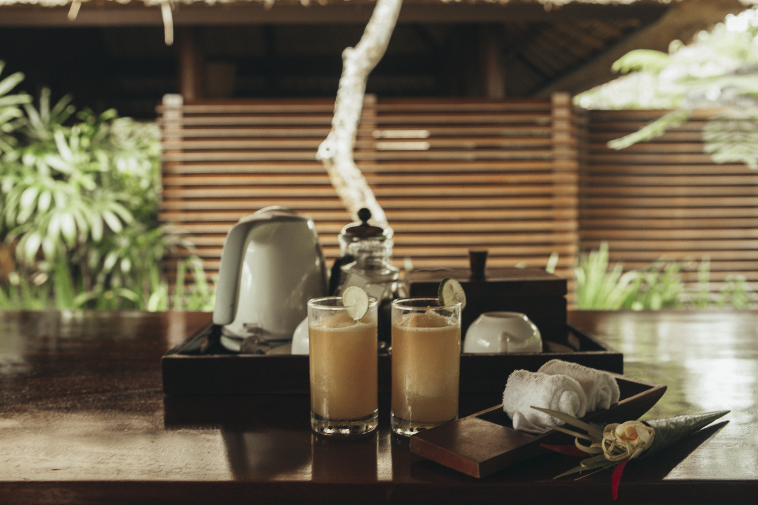 Kayumanis Ubud outdoor lounge