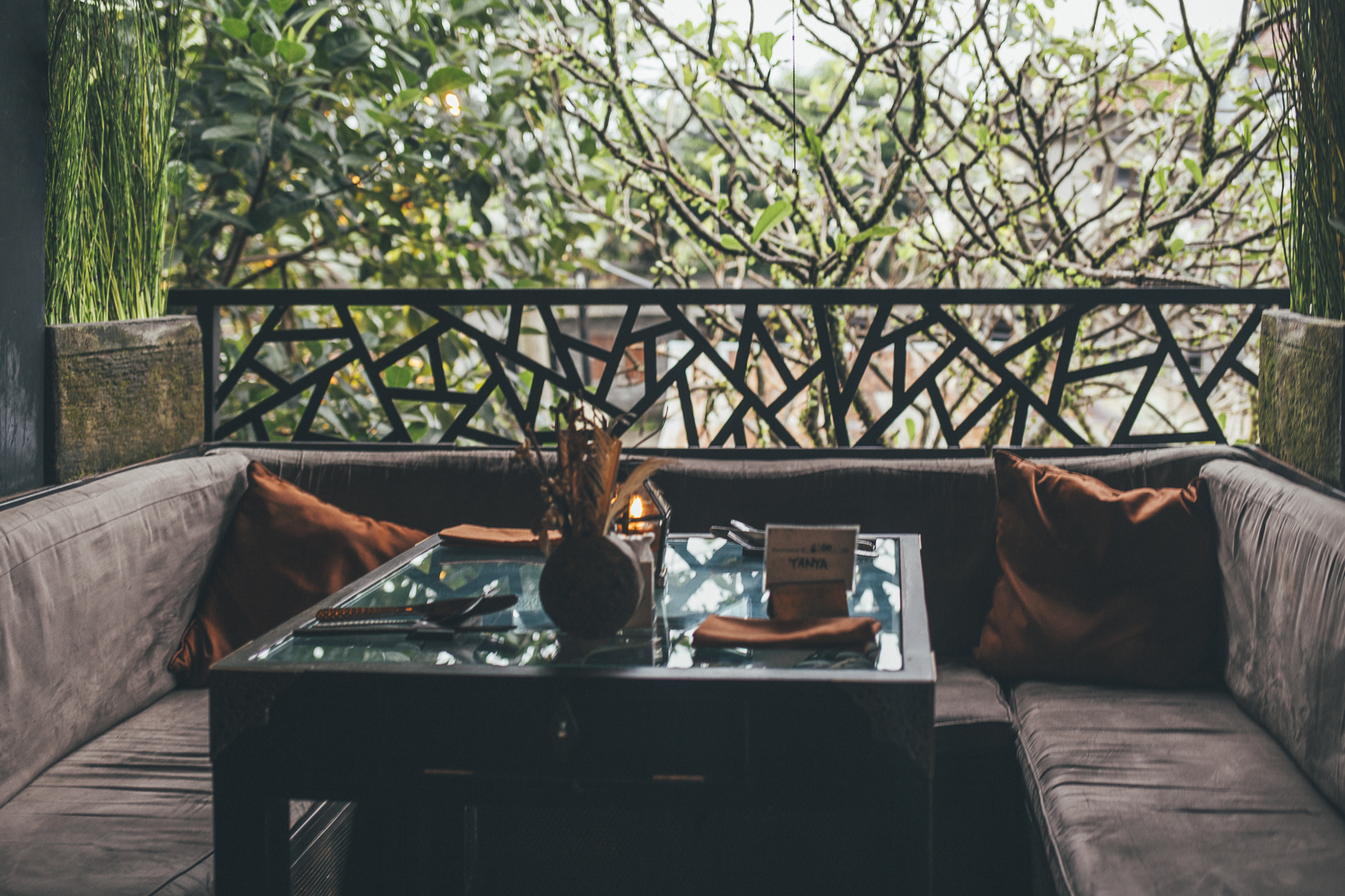 Bali Food guide: Kismet Restaurant Ubud