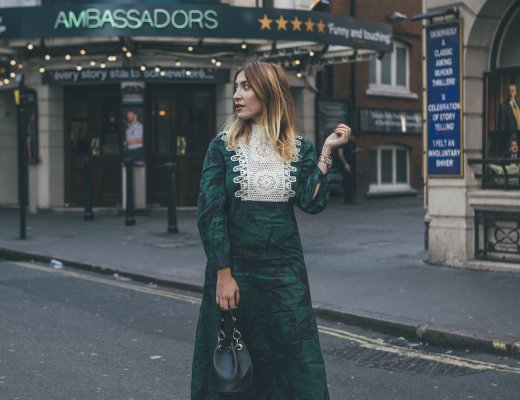 GREEN LINEN ZARA DRESS