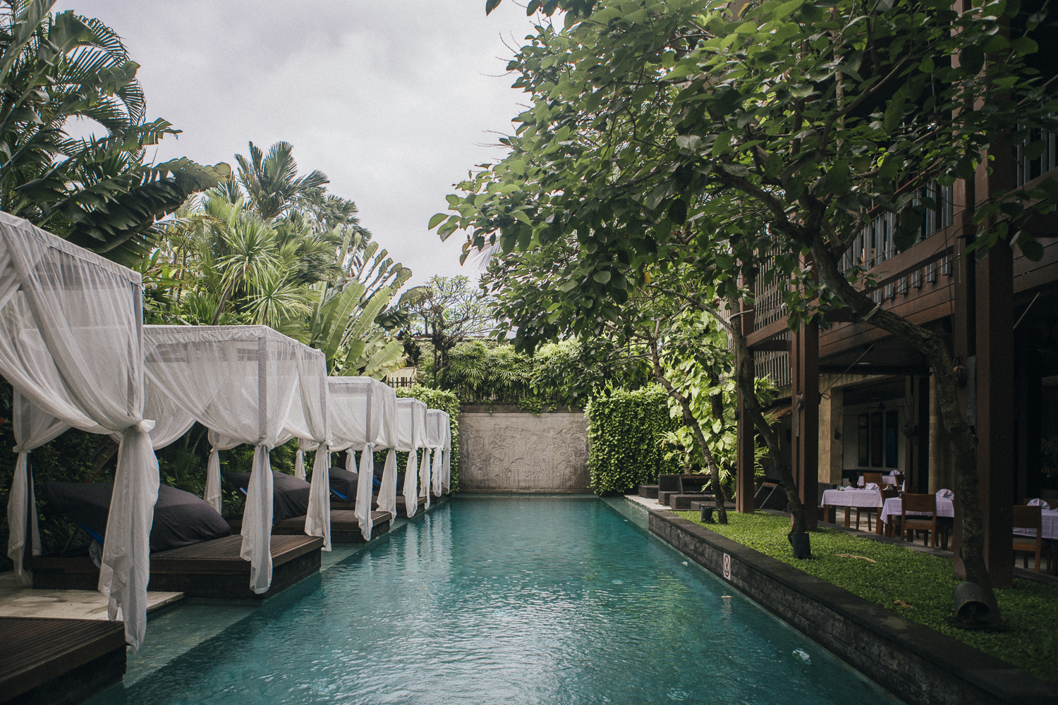 The Elysian Seminyak main pool