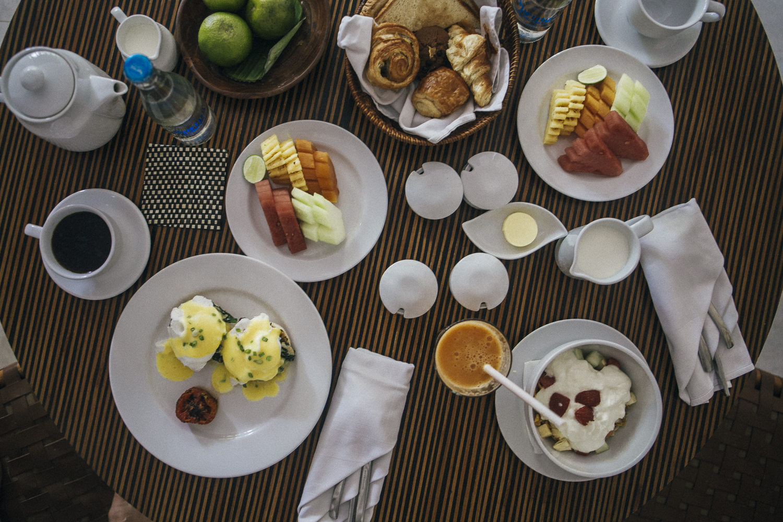 The Elysian Seminyak breakfast