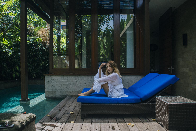 The Elysian Seminyak private patio