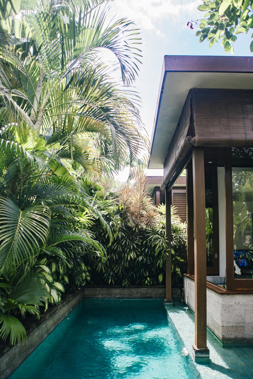 The Elysian Seminyak private pool
