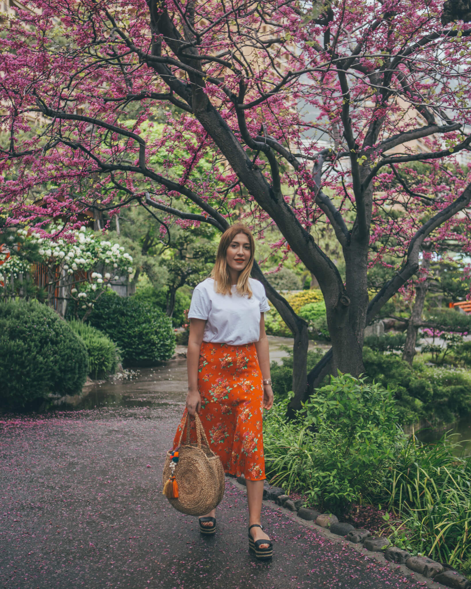 Japanese Garden Monaco - What I Wore