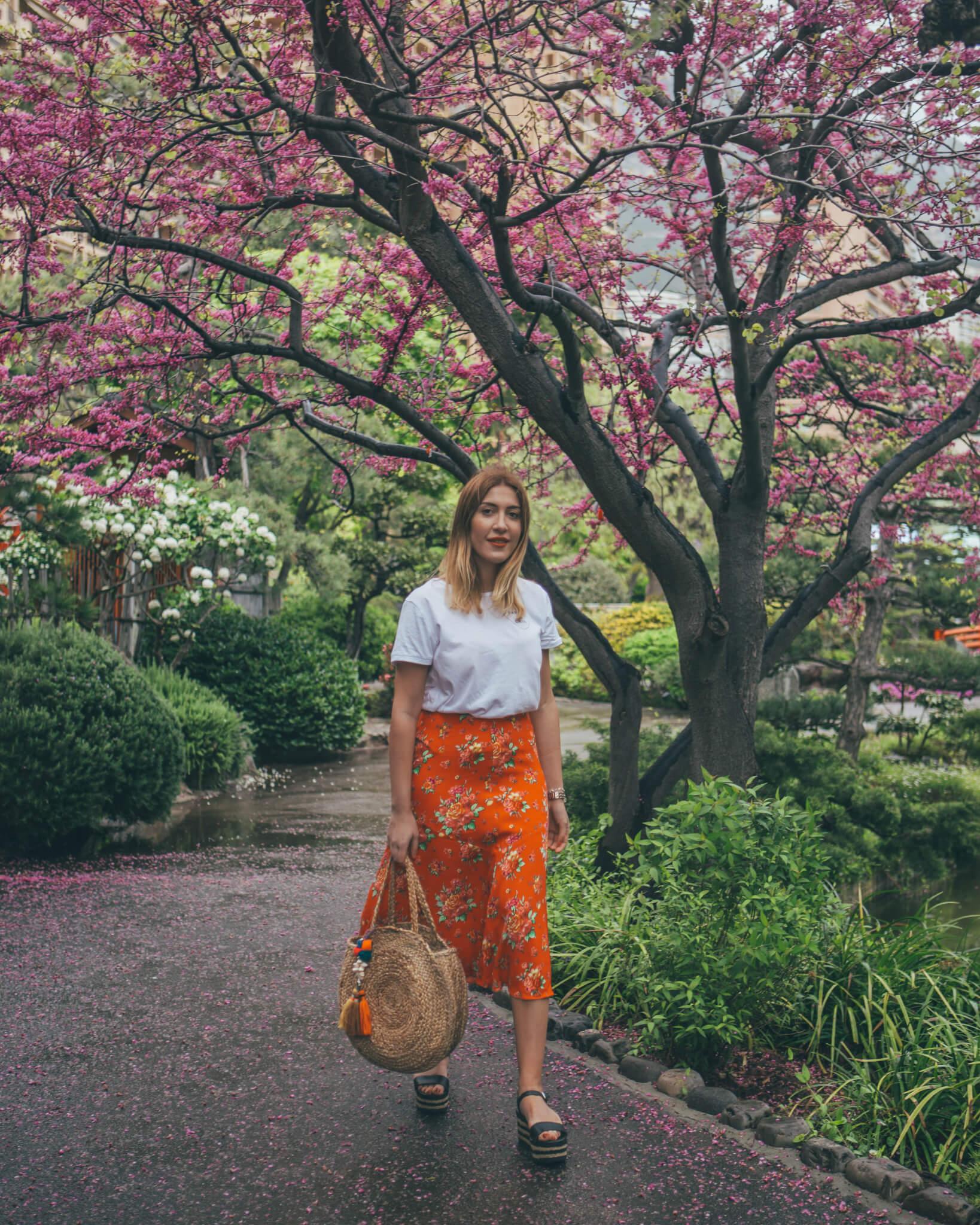 Japanese Garden Monaco - What I Wore