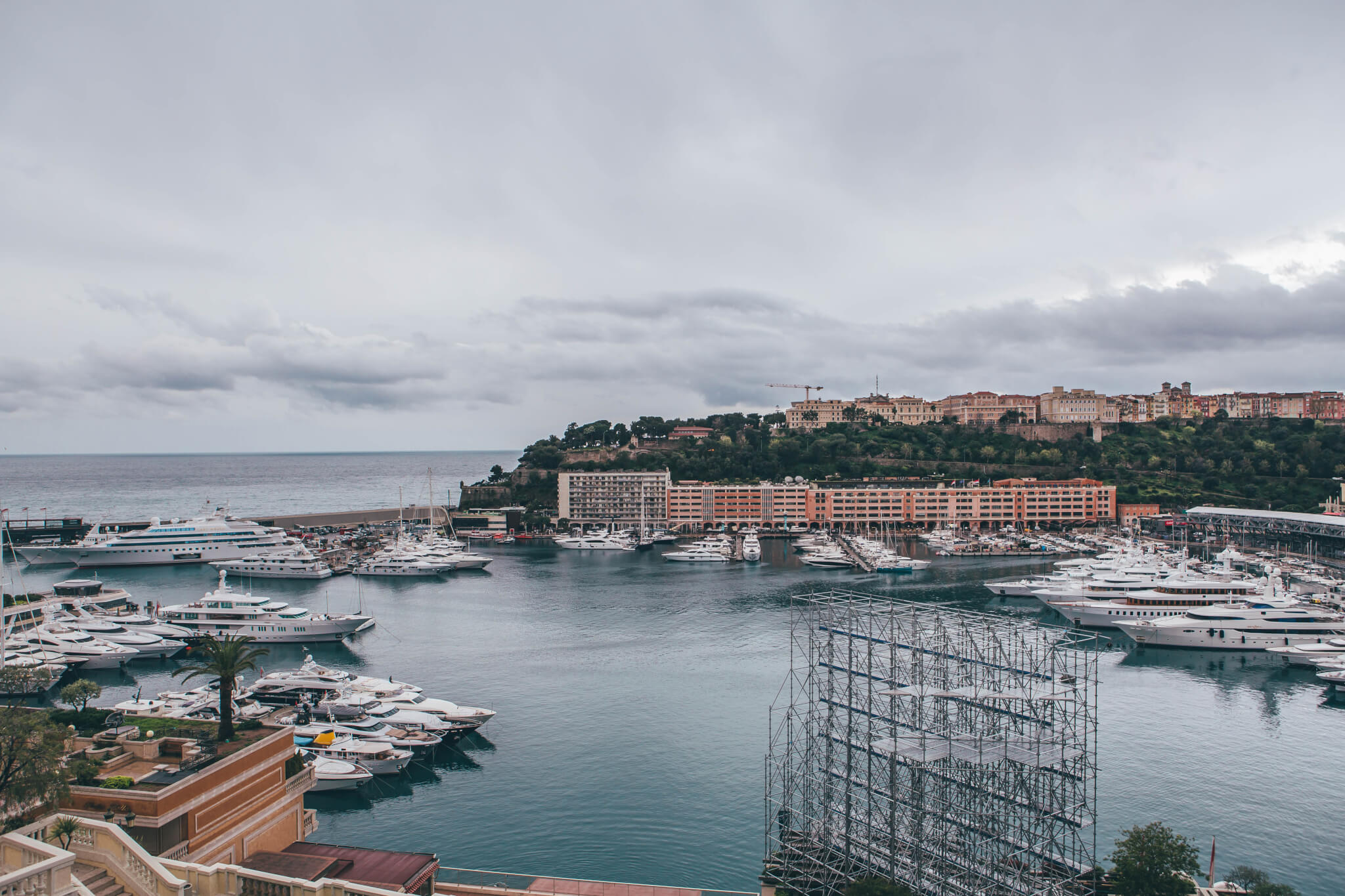 Hotel Hermitage room view