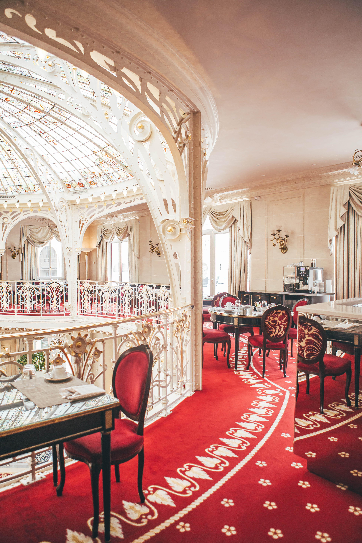 Hotel Hermitage breakfast