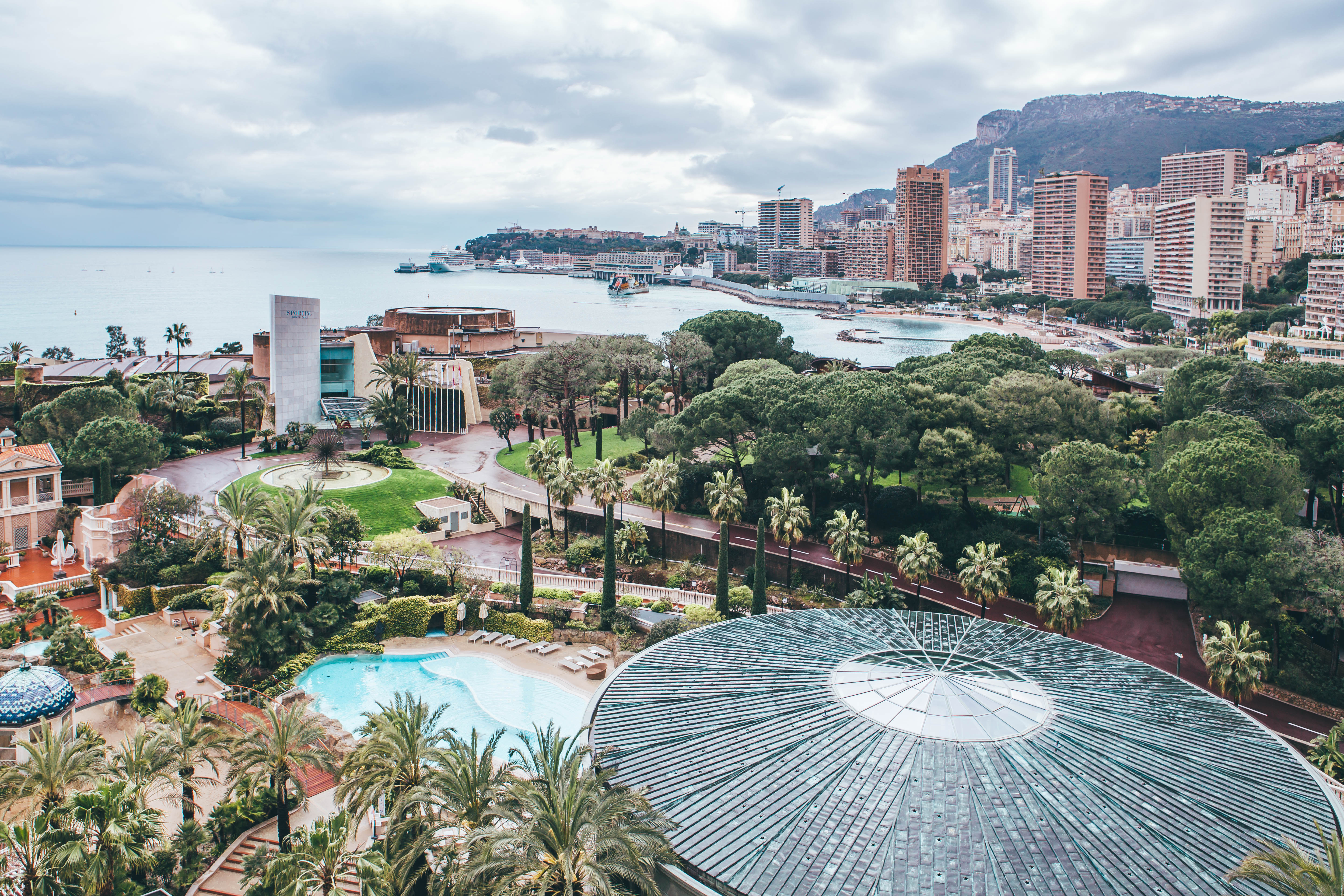Monte Carlo Bay Deluxe room view